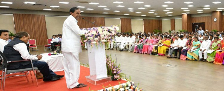 KCR unveils blueprint of