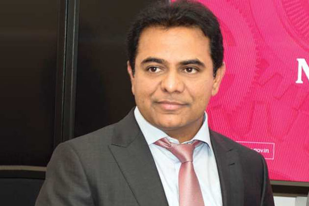 KTR meets Mukesh Ambani at World Economic Forum