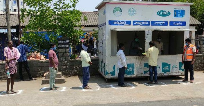 Telangana government decides to increase the number of Annapurna Canteens from May 14