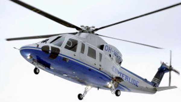 Helicopter ride begins in Hyderabad