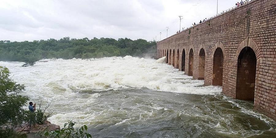 Four more gates of Himayat Sagar lifted