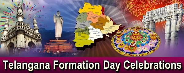 Three-day festivities to mark Telangana Formation Day