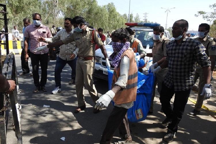 Chopped body of a woman found near Hyderabad's IT hub