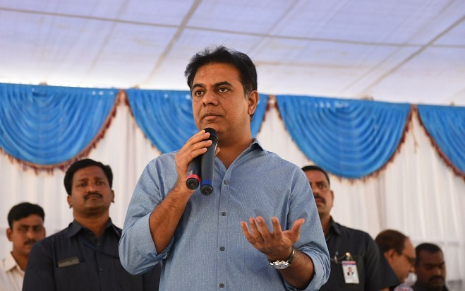 All poor will get Double Bedroom Houses: KTR