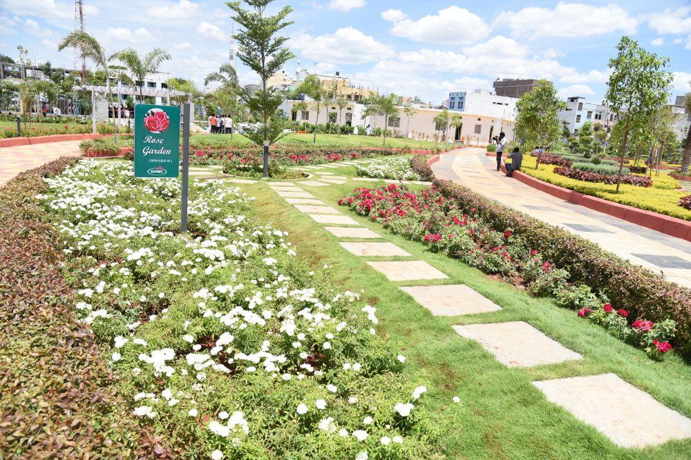 KTR inaugurates the Kishan Bagh Park