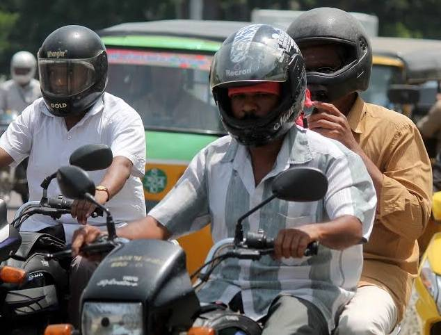 HELMETS , DRIVING LICENSE COMPULSORY FROM WEDNESDAY