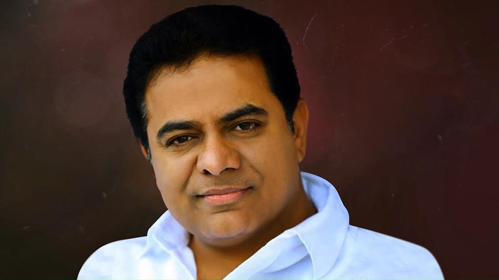 KTR pays tribute to Sushma Swaraj