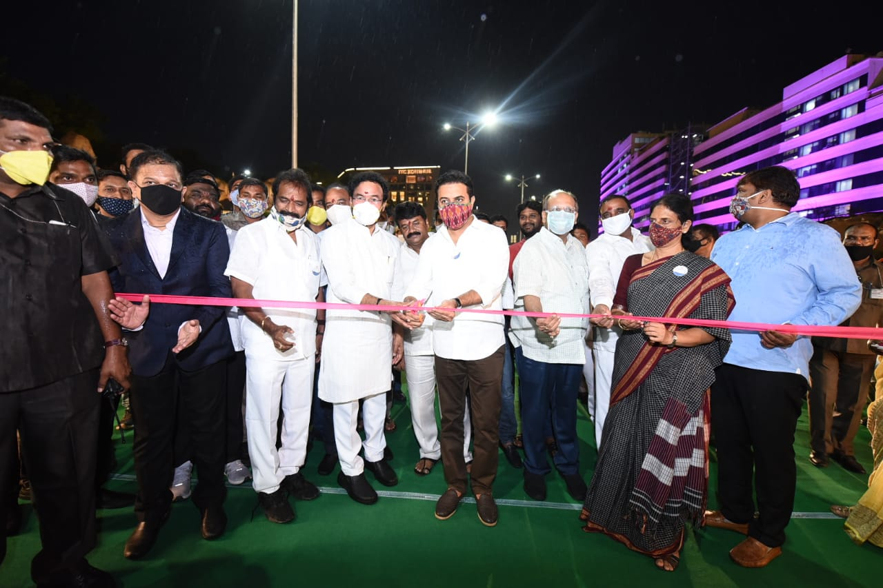 Durgam Cheruvu Lake inaugurated