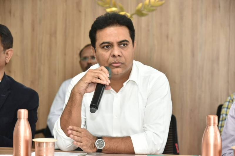 KTR launches mini hub imaging service centre at Sriram Nagar