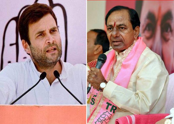 KCR calls Rahul as joker