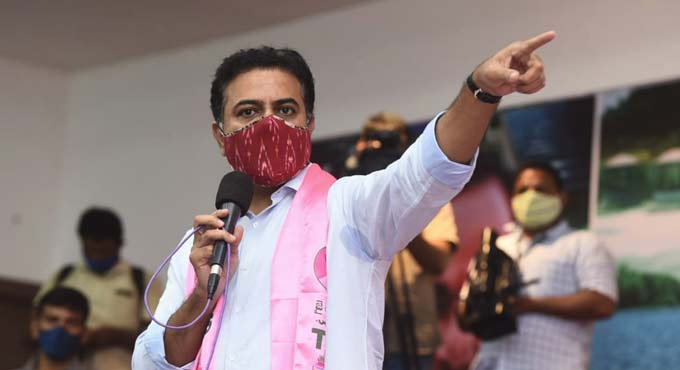 KTR pointed out that refugees and illegal immigrants could enter the country only because of the failure of the Centre