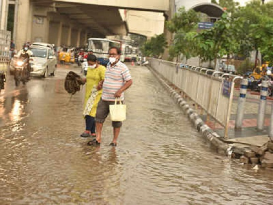 GHMC puts Hyderabad on high alert for heavy rainfall due to Cyclone Gulab