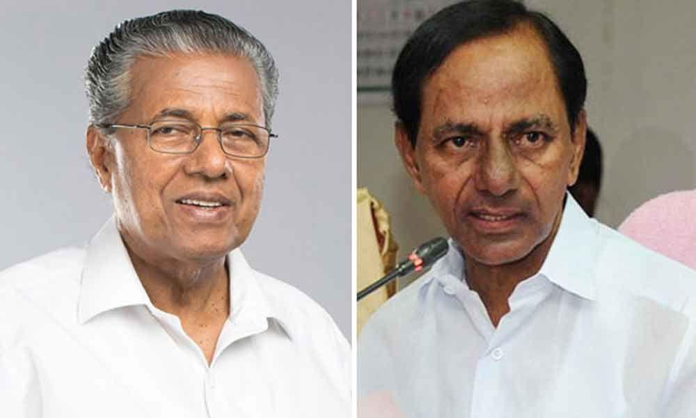 KCR to meet Kerala CM today