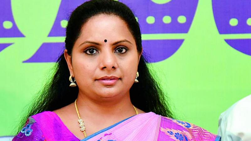 Kavitha to hold live Twitter session tomorrow at 1 pm