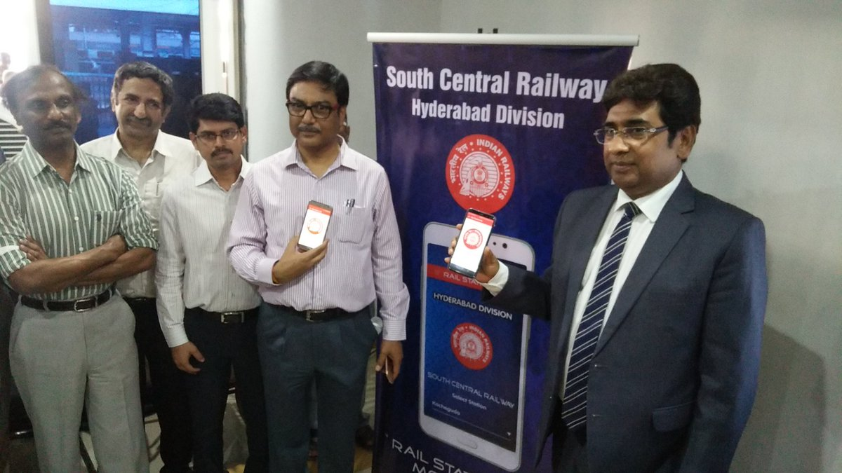 SCR launch app for railway information