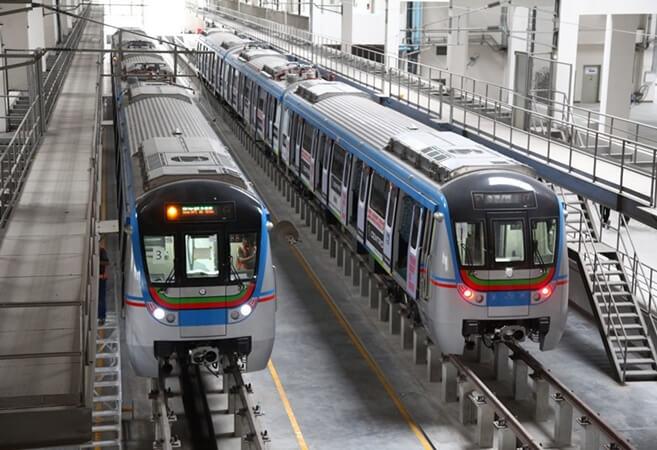 Hyderabad Metro daily ridership cross 5 lakh