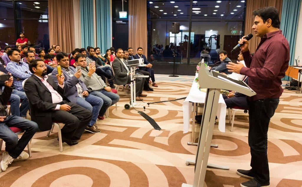 KTR welcomes investors to Telangana