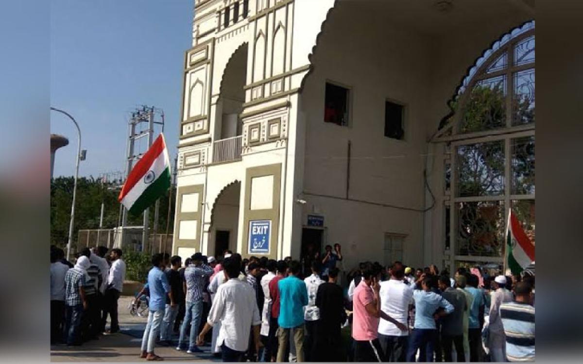 Protests held over Delhi violence at MANUU