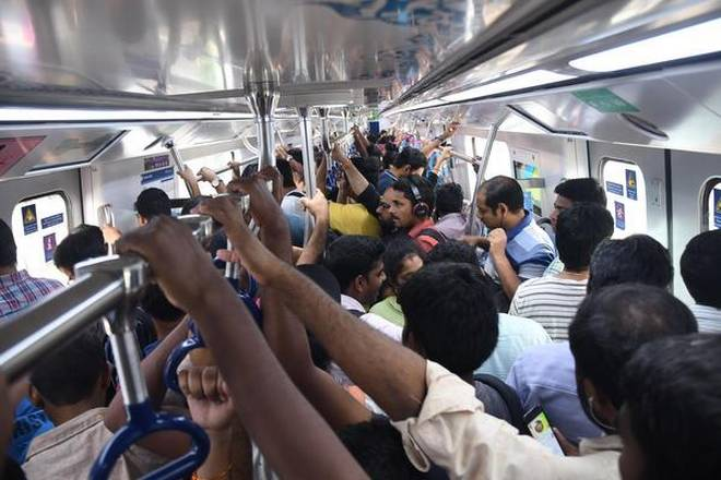 RTC strike: 3.63 lakh passengers travelled in Metro trains on Monday