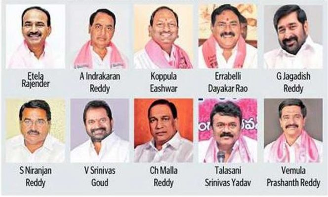 Porfolios allocated to new Ministers in Telangana Assembly