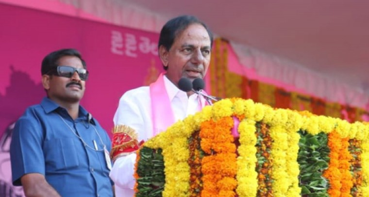 Hiked pensions if voted to power: KCR