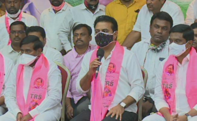 KTR says GHMC results not as expected