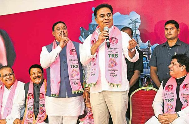 Minorities only a vote bank for Congress: KTR