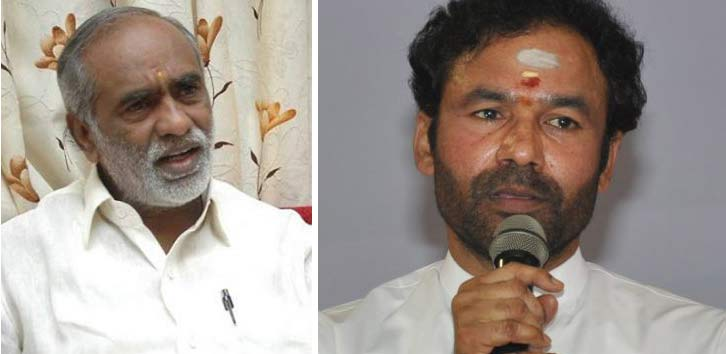 BJP loses top leaders in Hyderabad