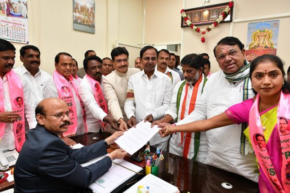 Pocharam elected Speaker of Telangana State Assembly