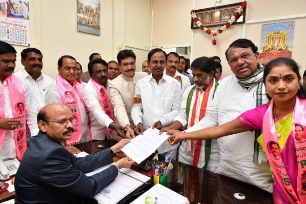 Pocharam elected Speaker of Telangana State Assembly
