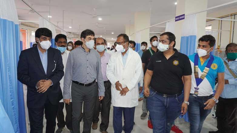 50-bed ICU ward inaugurated at Osmania General Hospital