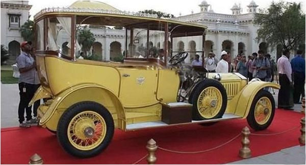 Sixth Hyderabad Nizam's Vintage Car Damage