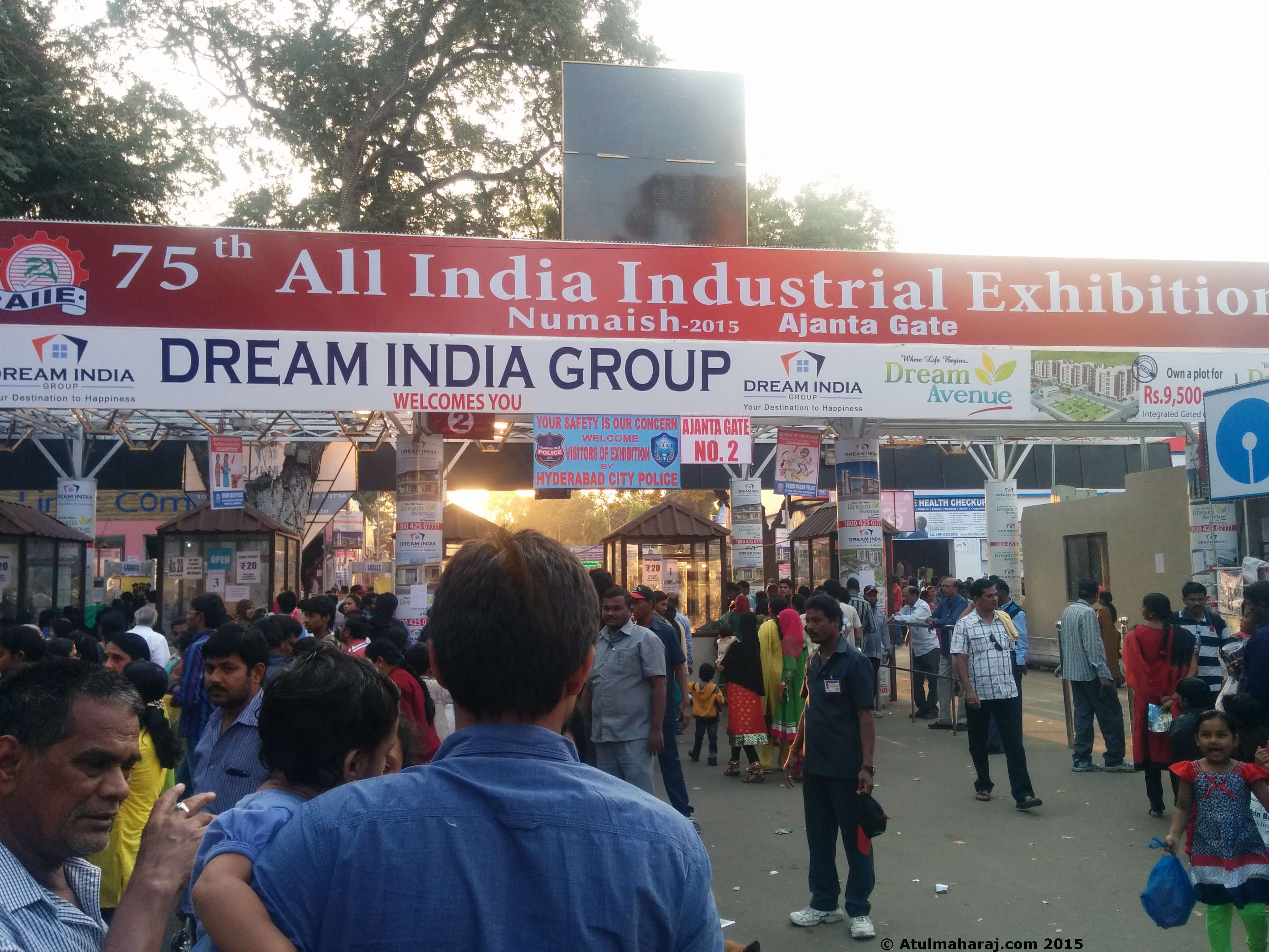 KCR declares open Industrial Exhibition