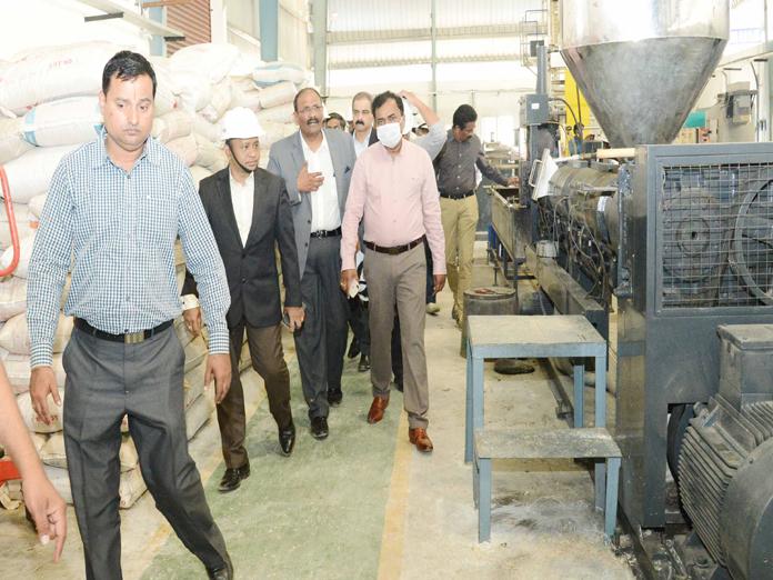 Dana Kishore visits Jawahar Nagar Dump Yard