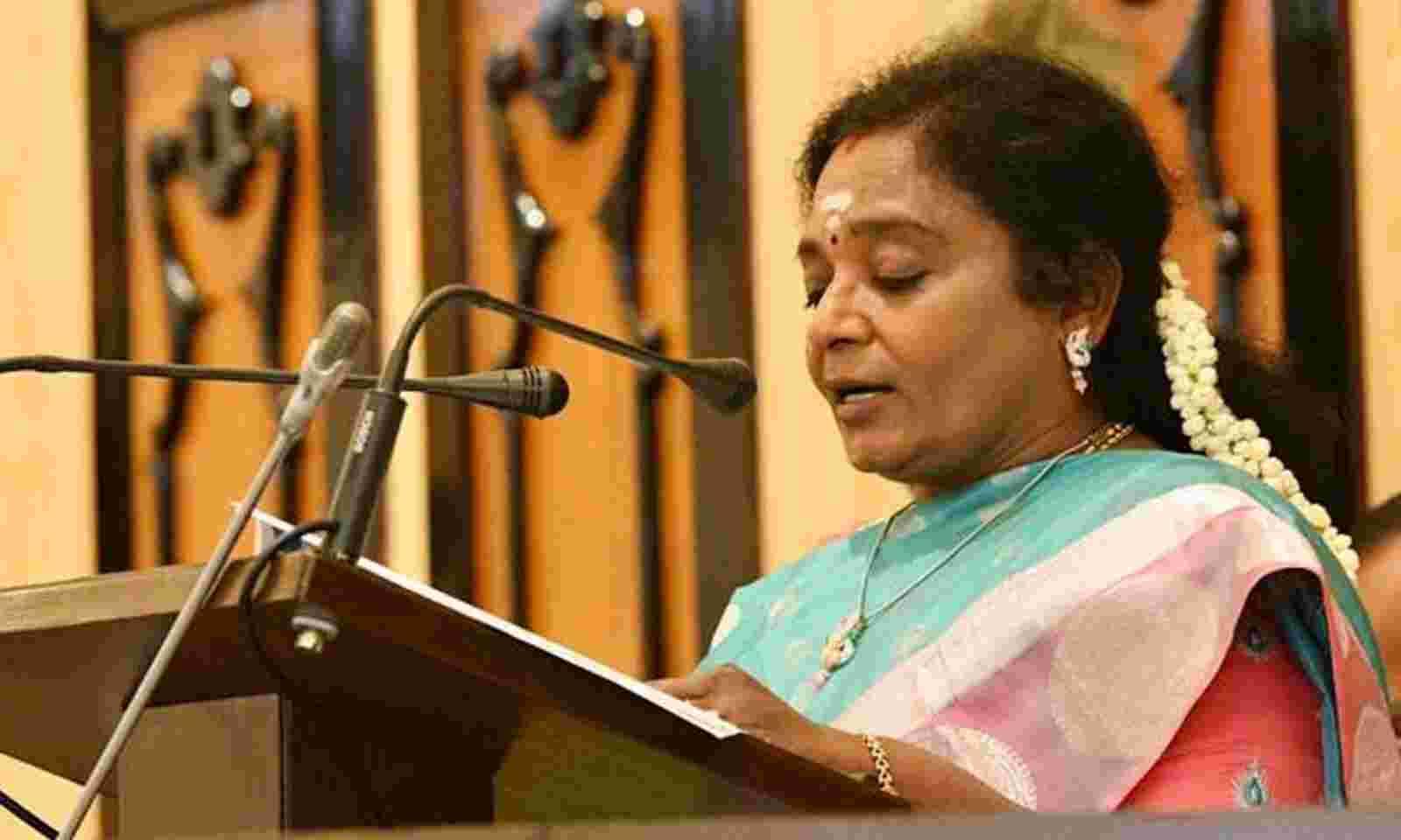 pallepragathitransformedvillagesoftelangana:tamilisaisoundararajan
