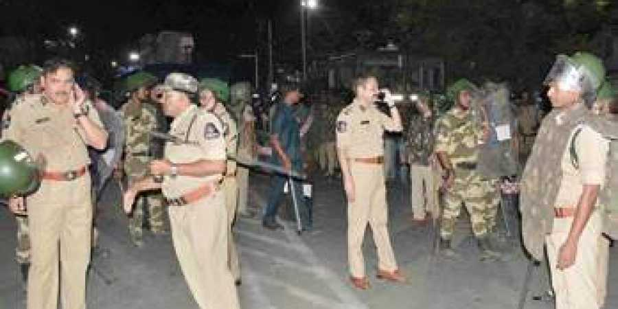 A day after clashes, Amberpet returns to normalcy