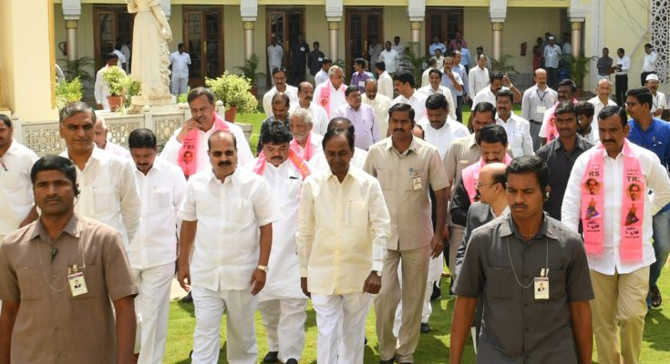 KCR attends one-day Council session