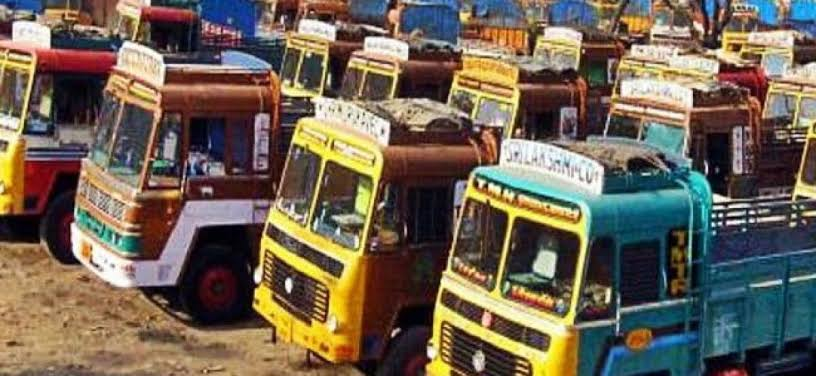 Lorry owners on strike today