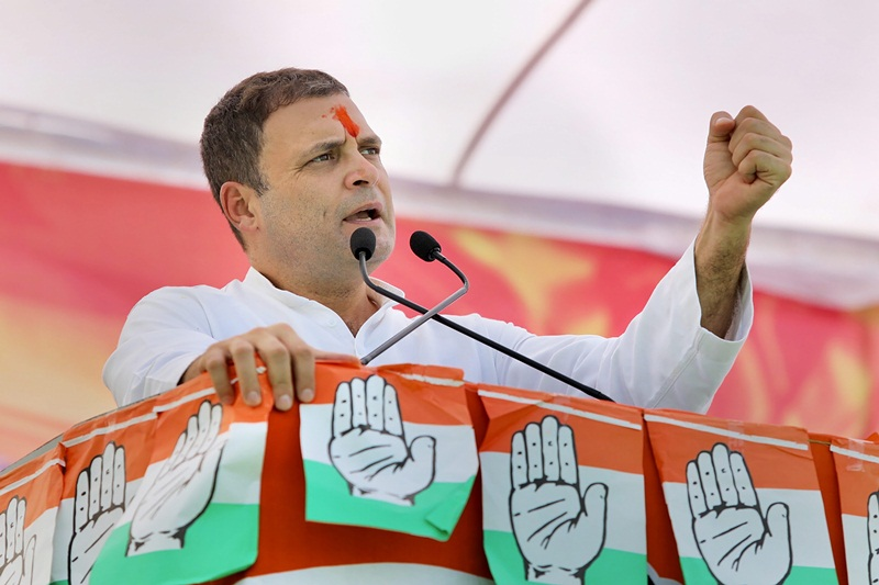 TRS govt will be out of power in Telangana after four and a half years of miss rule: Rahul Gandhi