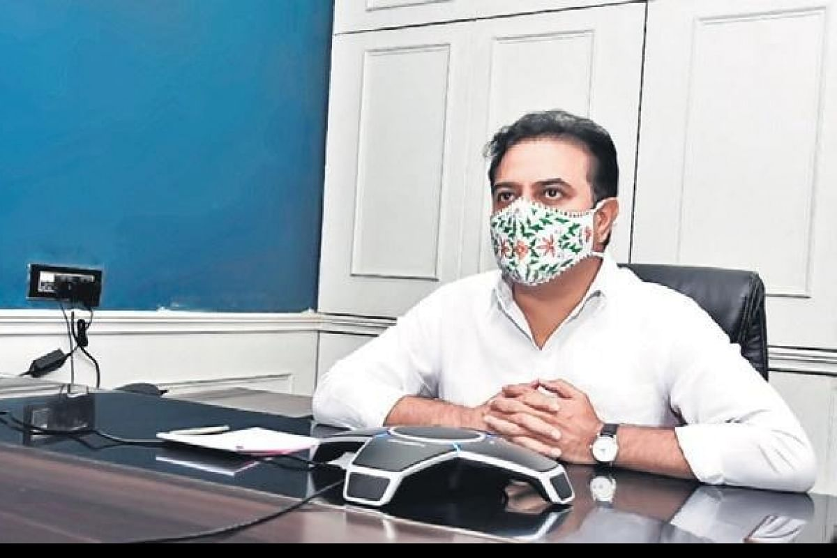 Telangana IT Minister K T Rama Rao says more than 24% of 32 billion dollars worth of investments in last 7 years came from existing investors