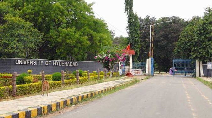 University of Hyderabad shut for four days