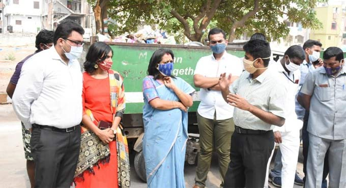 Hyderabad Mayor inspects sanitation works in city for fourth consecutive day