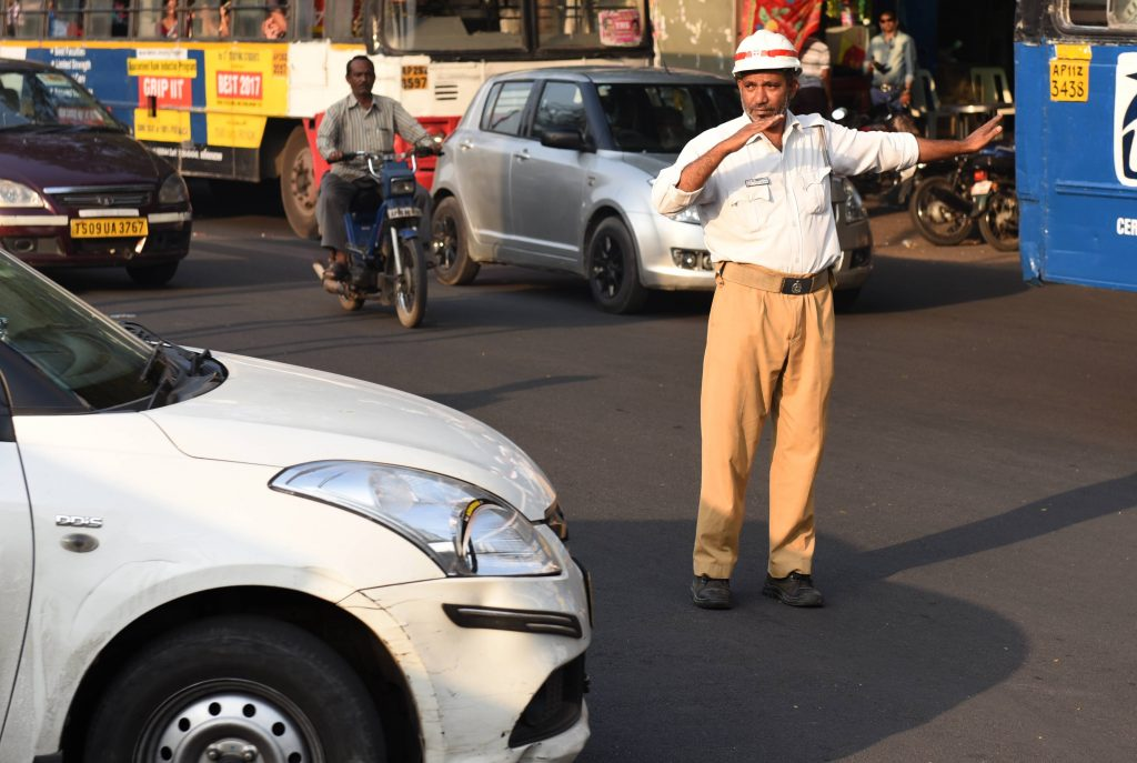 Traffic constable works as auto driver, home guard to educate daughters