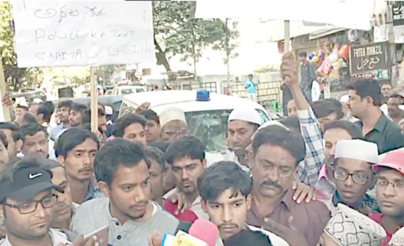 Man murdered, family members stage protest, disrupt traffic