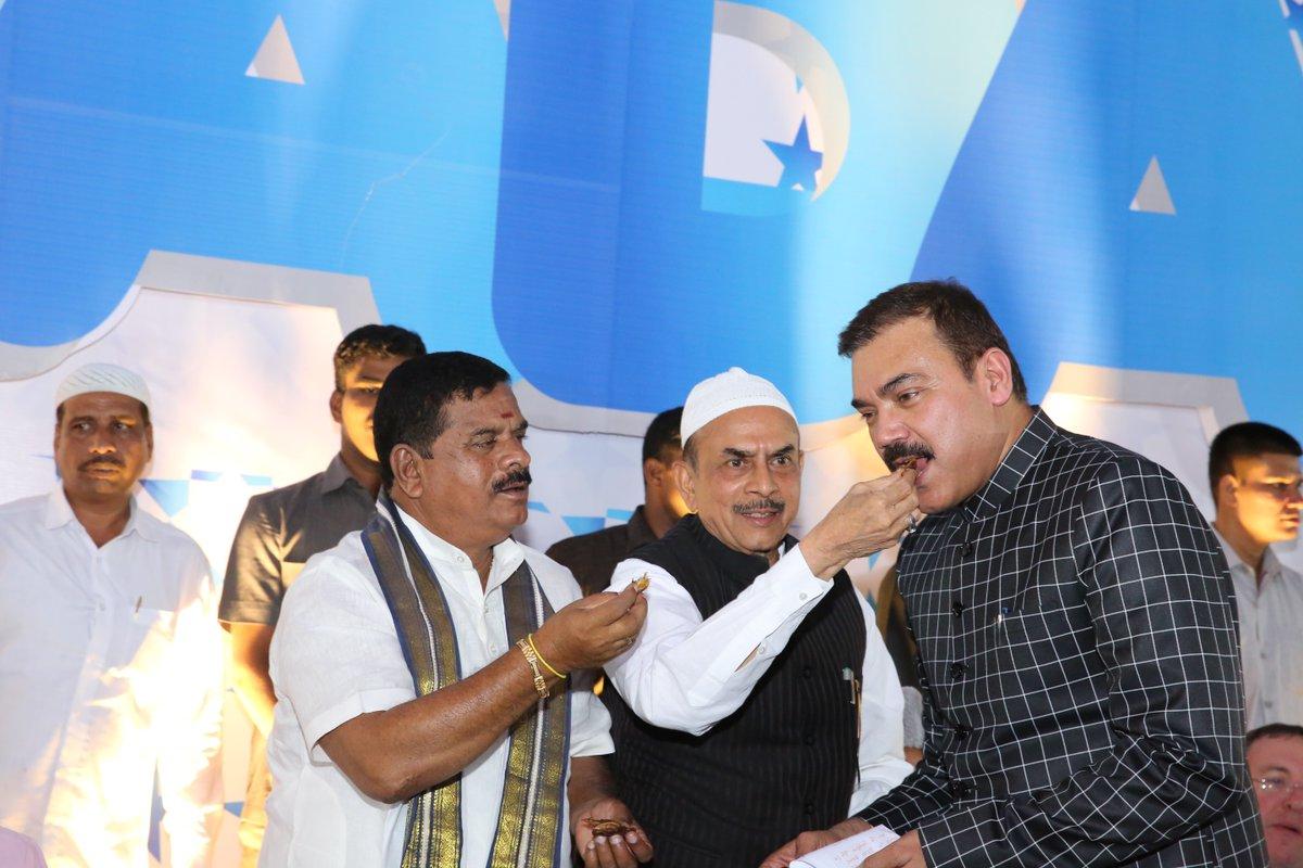 Anjani Kumar, Commissioner of Hyderabad City Police hosts Iftar Party at Chowmahalla Palace