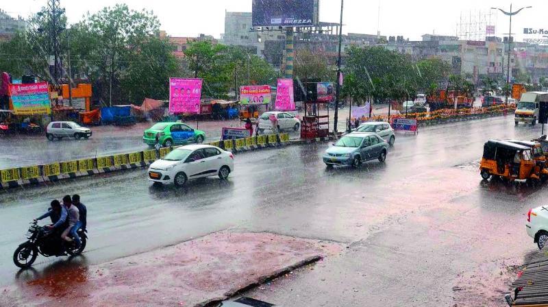 Light rain brings some respite in Hyderabad