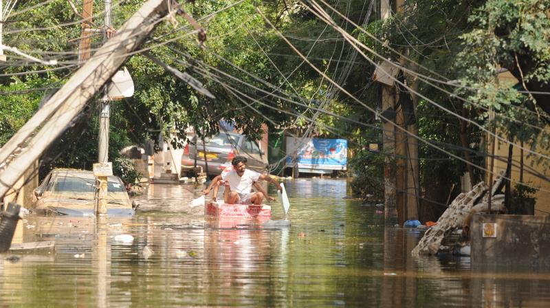 Flood-hit Hyderabad limps back to normalcy