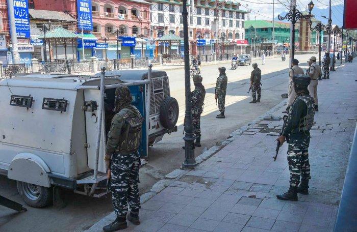 No immediate plan to withdraw troops from J&K: Kishan Reddy