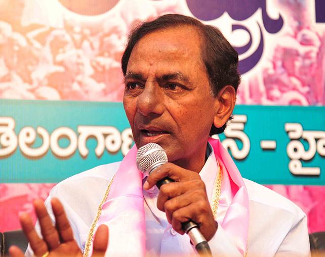 CM KCR warns leaders on agriculture sops