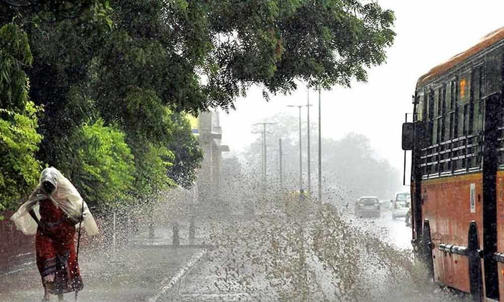 Telangana districts witnesses heavy rains